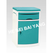 (C-99) ABS Green Color Bedside Cabinet