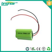 Nimh bateria pacote 2.4v indústria