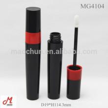 MG4104 Round plastic custom empty lip gloss packaging