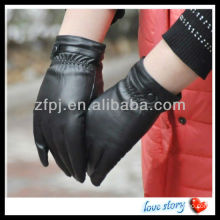 fashion women leather glove