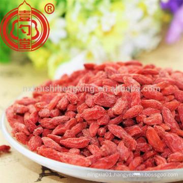 China wolfberry goji berry dried organic for sale