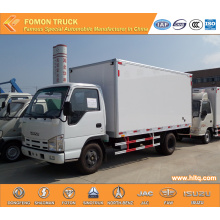 Japan Technology 4X2 Van Cargo Truck 5tons