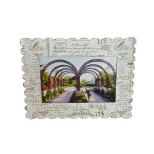 Paper Printing Landscape Photo Frame, Fridge Magnetic Photo Frame