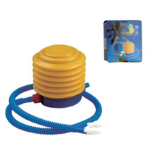 Bomba de plástico para pie para globo