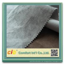 100% Polyester Wildleder Stoff für Polsterung für Auto Wildleder Rolls