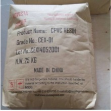 راتنج CPVC المكلور Polyvinyl Chloride For Industrial