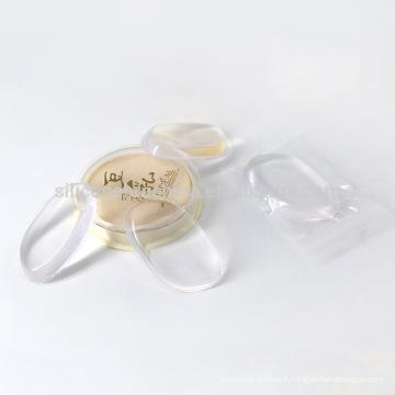2017 Usine Directe Vendre Transparent Maquillage Cosmétique Silice Gel houppette