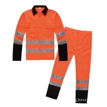 Poly-Cotton winter safety vest