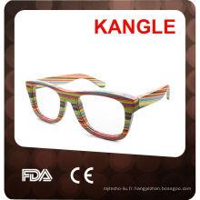 2015 nouvelles lunettes de soleil en bois de mode pour les hommes