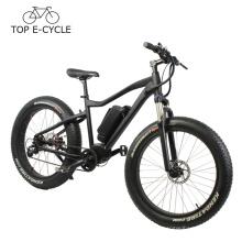 Alta calidad BBS bafang mid drive motor e bike MTB pedal ebike 2017 bicicleta eléctrica