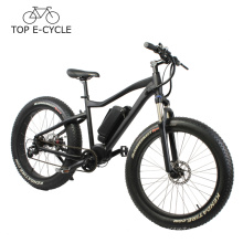 Alta qualidade BBS bafang mid drive motor e bicicleta MTB pedal ebike 2017 bicicleta elétrica