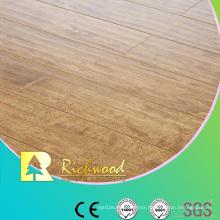 Commercial 8.3mm Embossed Elm V-Grooved Waterproof Laminate Floor