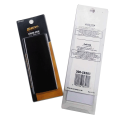Embalagem de cartão blister de lâminas transparentes impressas em PET personalizado