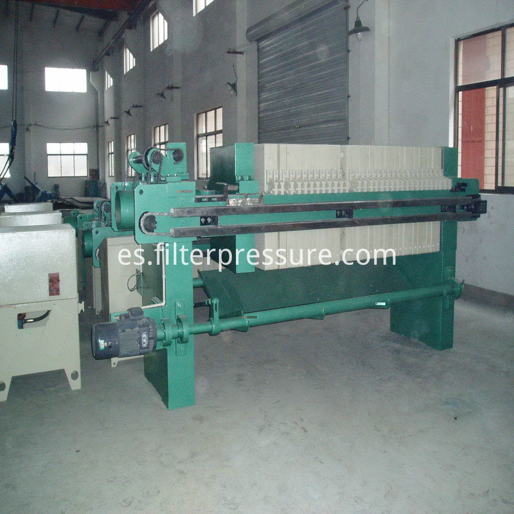 Sewage Plate Frame Filter Press 4