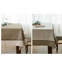 Housse de table en lin 100% en pierre wahsed / linge de table en lin pur