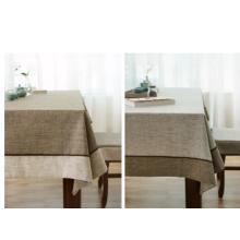 100% покрытие из каменного льняного полотна / чистая ленточная скатерть