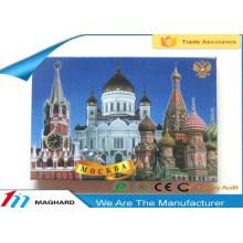 travel in Russia iron tin metal fridge magnet tourist souvenirs