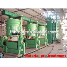 Hot vender milho / máquina de processamento de óleo de germe de milho, linha de produção de refino de petróleo bruto