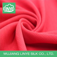 plain dyeing 800 twisting crepe polyester fabric