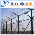 Hot Dipped Galvaniserad Coiled Razor Wire Militärt Fence