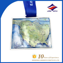LZY Wholesale Custom Souvenir Print Logo Medal