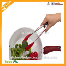 Hot selling high quality best price silicone kitchen tong