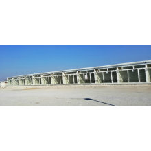 Prefab Steel Structure Frame Shop Building with Fireproof Panel
