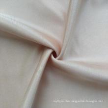 Shantou factory direct supply JN174 plain shiny stretchy fabric wholesale satin  nylon spandex underwear fabric