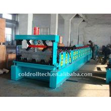 Rollo de cubierta de metal de acero que forma la máquina
