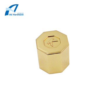 Benutzerdefinierte sechseckige Metall Parfüm Flaschenverschluss