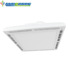 CCT Selectable LED Panel Light with HEPA UVC Air Purifier Sterilization LED Panel Light