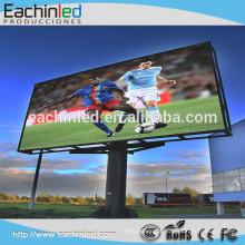 Exposição conduzida fixa fixada da propaganda da tevê da cor completa exterior de alta qualidade SMD do preço da promoção