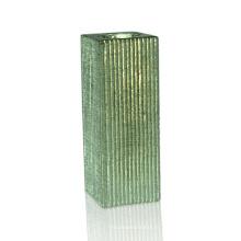 Bougeoir en céramique à placage d'argent moderne