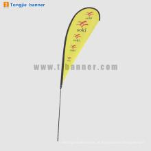 Barato personalizado swooper bandeiras, exibir bandeira de praia impressão completa