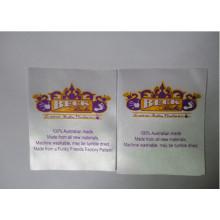 Etiqueta de impressão de materiais de venda diferentes