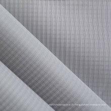 Tissu en polyester Ripstop Oxford Triple Line