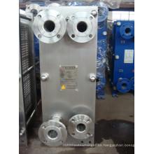 Intercambiador de calor para procesamiento de lácteos Pasteurización