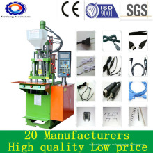 Máquina de moldeo por inyección de plástico vertical automática para accesorios