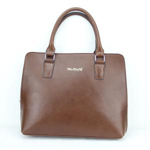 Premium PU Men's Black Leather Business Briefcase