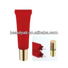 Tubo de embalagem de cosméticos com stand up cap