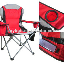 Folding cooler chair with padding sponge