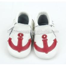 Новорожденные мокасины для младенцев милые патчеты для детской обуви