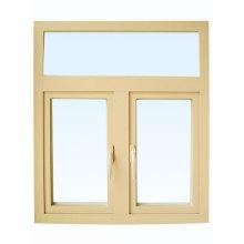 Fenêtre d'alliage de fenêtre coulissante en verre trempé simple / double