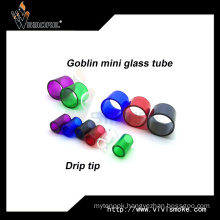 Colorful Bell Cap Goblin Mini Glass Tube with Drip Tip Goblin Tank