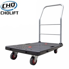 China for Pallet Lift Truck 150kgs folding Load Plastic Platform Hand Truck export to Thailand Suppliers