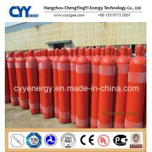 Cylindre de gaz en acier inoxydable à base d'oxygène liquide à haute teneur en oxygène à l'azote oxygène
