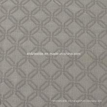 El más nuevo hilado especial típico teñido de lino que mira la cortina del telar jacquar