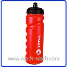 Botella de agua 750ml HDPE plástico deportes