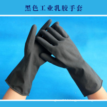 Gants industriels en latex noir