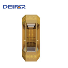 Delfar Beautiful Observation Elevator with Decoration
